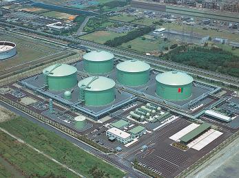 鹿島液化ガス共同備蓄基地(茨城県)