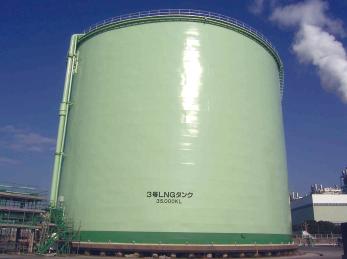 東京ガス根岸事業所LNGタンク(神奈川県)