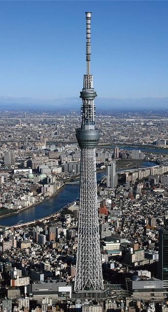 東京スカイツリー( 東京都)