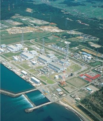 東京電力柏崎刈羽原子力発電所(新潟県)