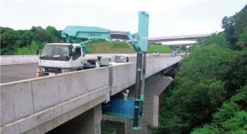 橋梁の点検調査工