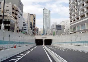 第2トンネル(仮称)仕上工事(東京都)表面保護工