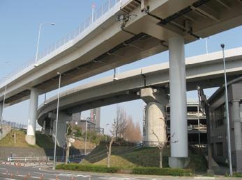 成田国際空港(千葉県) 15号橋塗装補修